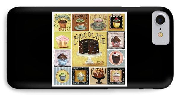 Cupcake Mosaic Phone Case by Catherine Holman