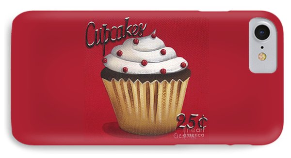 Cupcakes 25 Cents Phone Case by Catherine Holman