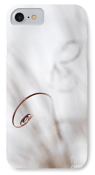 Curl IPhone Case by Anne Gilbert