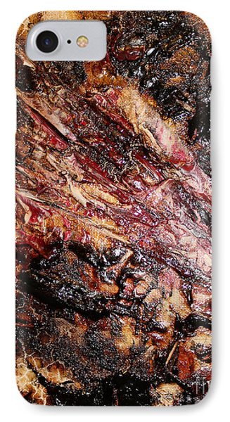 IPhone Case featuring the painting Curl Up And Dye by Lucy Matta