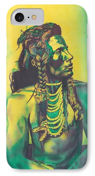 Curley IPhone Case by Louis Garding