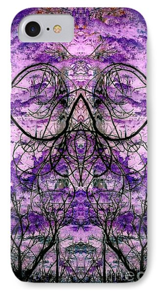 IPhone Case featuring the photograph Curly Branches by Karen Newell