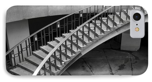 IPhone Case featuring the photograph Curly Stairway by Dorin Adrian Berbier