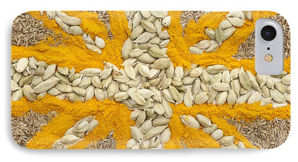 Curried Flag Phone Case by Anne Gilbert