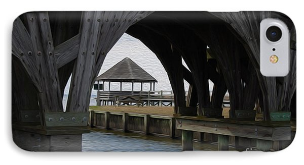 IPhone Case featuring the digital art Currituck Inlet by Kelvin Booker