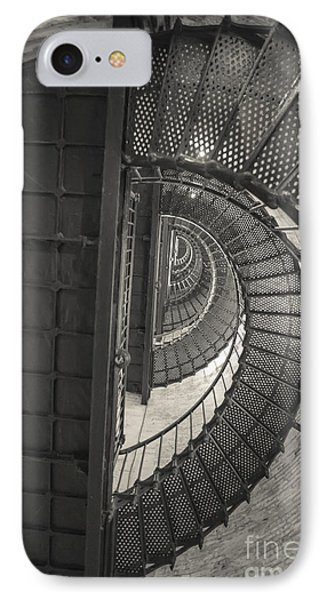 Currituck Lighthouse Stairs IPhone Case