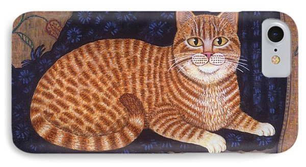 Curry The Cat Phone Case by Linda Mears