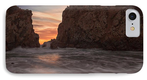 Curtain Call At Big Sur IPhone Case by Tim Bryan