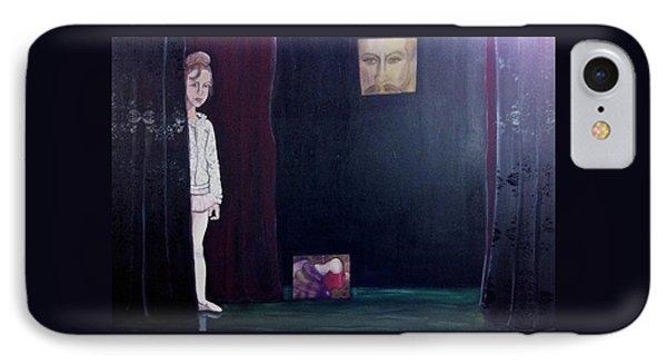 Curtain IPhone Case by Darlene Graeser