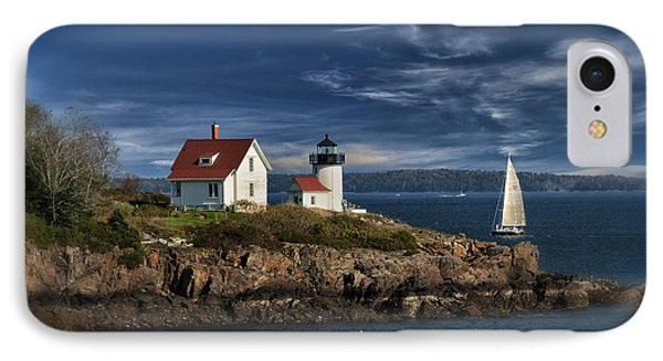 Curtis Island Lighthouse Maine Img 5988 IPhone Case