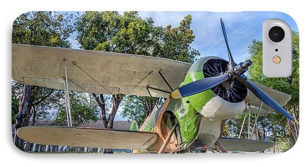 Curtiss Hawk IIl IPhone Case by Adrian Evans