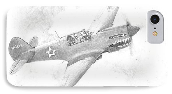 Curtiss P-40 Warhawk IPhone Case