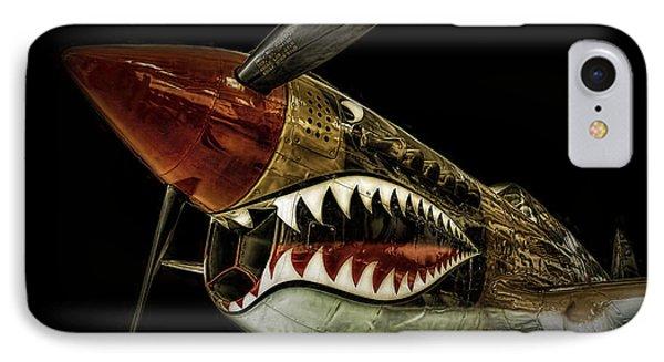 Curtiss P40 Warhawk  ... IPhone Case by Chuck Caramella