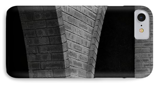 IPhone Case featuring the photograph Curved Bricks by Dorin Adrian Berbier