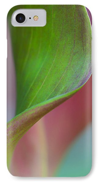 IPhone Case featuring the photograph Curves Of A Calla Lily by Zoe Ferrie