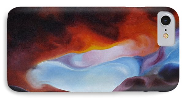Curves On The Horizon IPhone Case by Craig Burgwardt