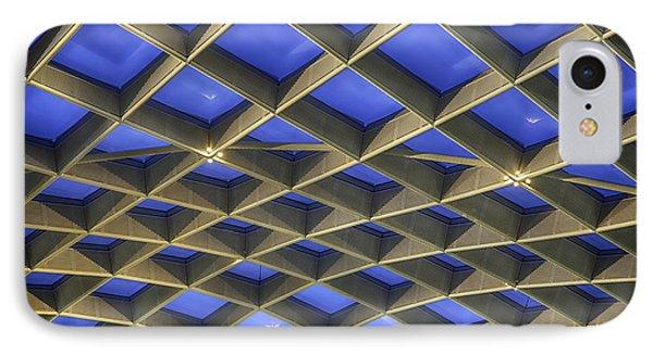 Curvilinear Skylight Structure  IPhone Case