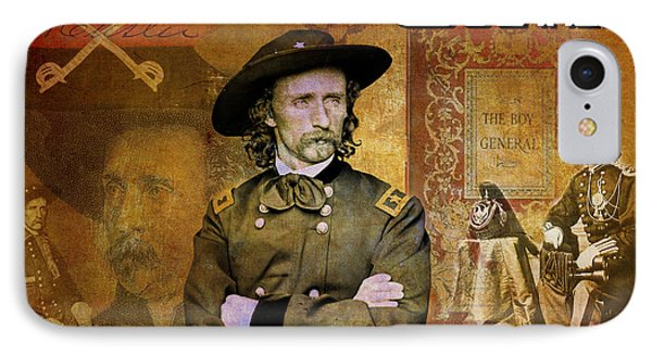 Custer IPhone Case by Greg Sharpe