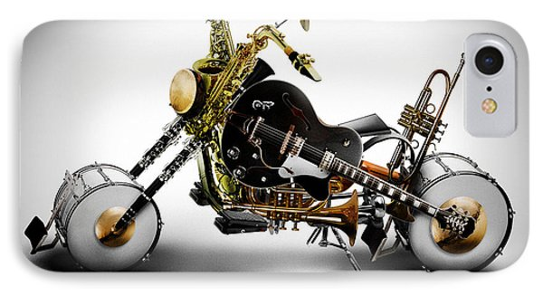 Custom Band IPhone Case by Alessandro Della Pietra