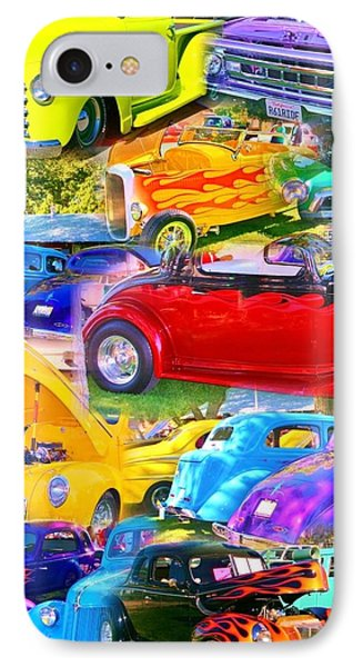 Custom Cars Collage IPhone Case by Marilyn Diaz