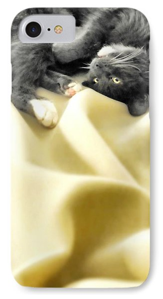 Custom Electric Blanket IPhone Case by Diana Angstadt