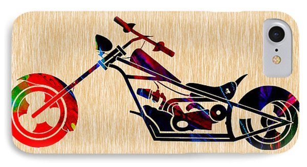 Custom Chopper IPhone Case by Marvin Blaine