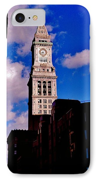 Custom House Of Boston IPhone Case by Benjamin Yeager