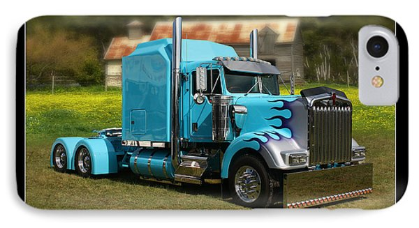 IPhone Case featuring the photograph Custom Kenworth by Keith Hawley