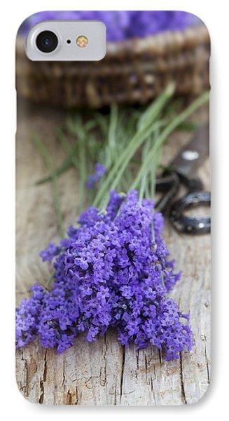 Cut Lavender Phone Case by Tim Gainey