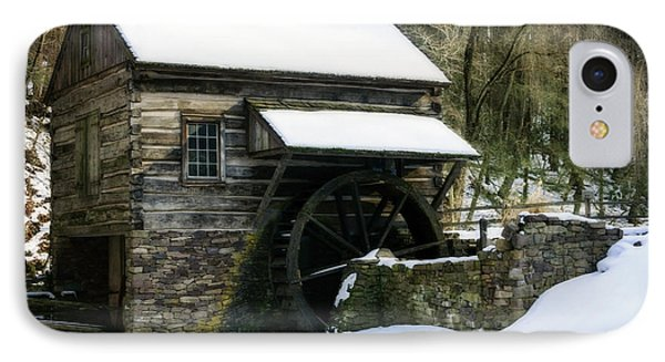 IPhone Case featuring the photograph Cuttalossa Farm In Winter by Debra Fedchin