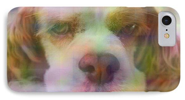 Cute Dog I Phone Case by Micaela Pazuello Mica