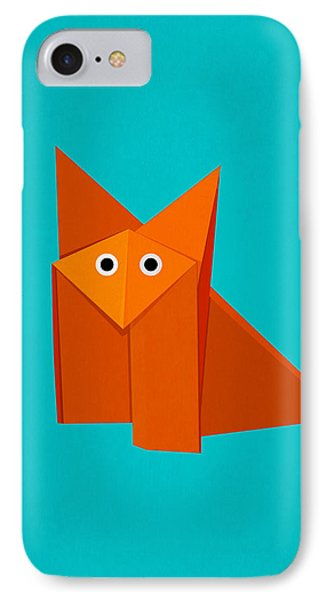 Cute Origami Fox IPhone Case