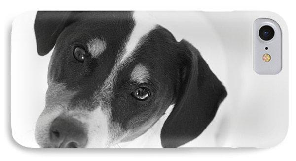 Cute Pose Jack Russell Terrier Phone Case by Natalie Kinnear