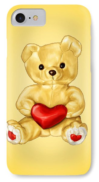 Cute Teddy Bear Hypnotist IPhone Case