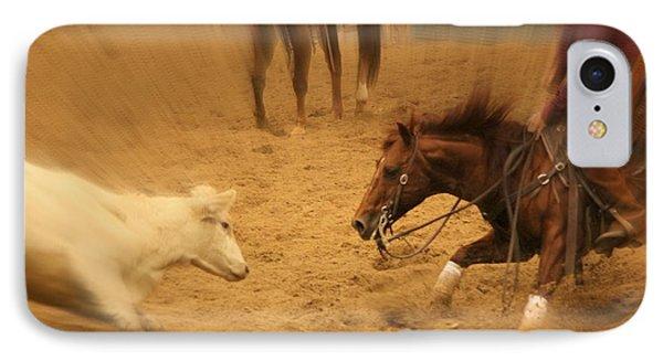 Cutting Horse 8 IPhone Case