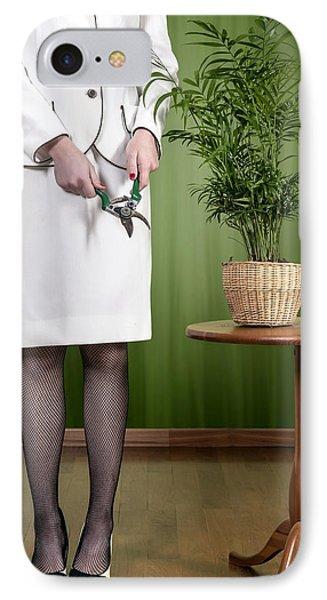 Cutting Plant Phone Case by Joana Kruse