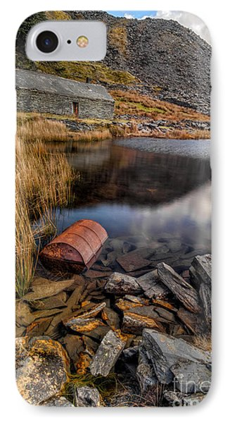Cwmorthin Slate Quarry Phone Case by Adrian Evans