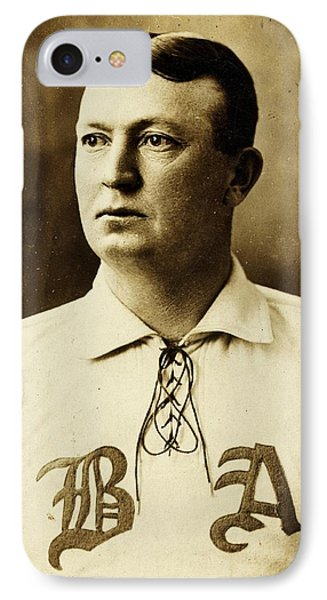 Cy Young Phone Case by Benjamin Yeager