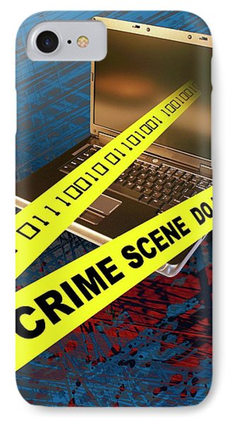 Cyber Crime IPhone Case