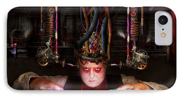 Cyberpunk - Mad Skills Phone Case by Mike Savad