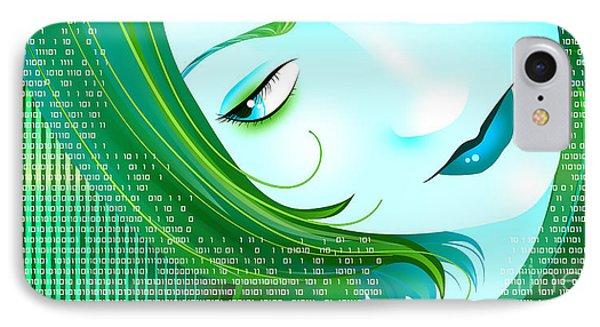 Cyberpunk Phone Case by Sandra Hoefer