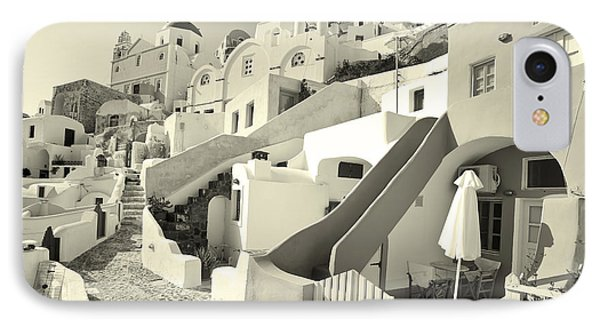 Cycladic Style Houses IPhone Case by Aiolos Greek Collections