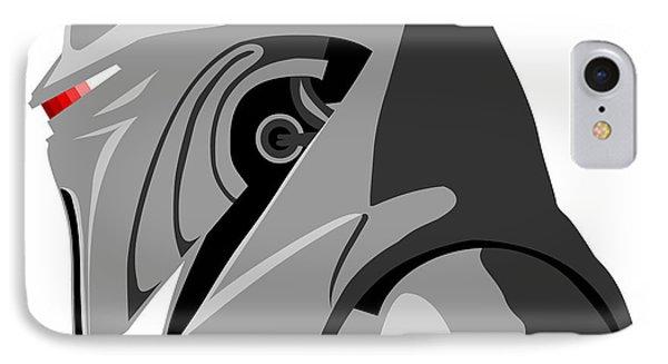 Cylon Phone Case by Paul Dunkel