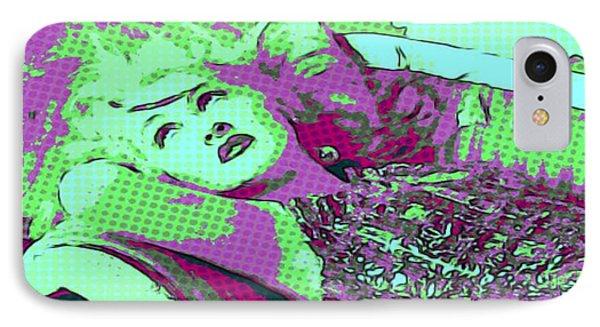 Cyndi Lauper IPhone Case by Catherine Lott