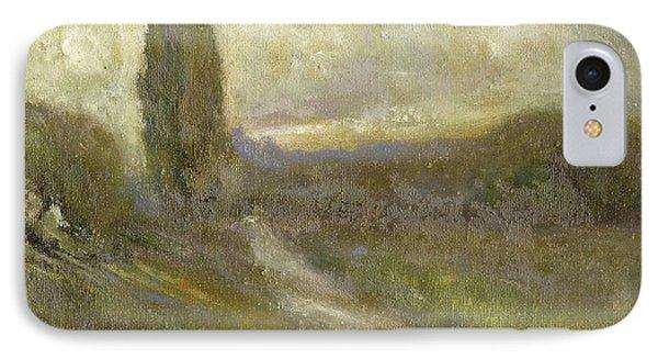 Cypress Landscape IPhone Case