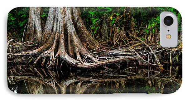 Cypress Roots Phone Case by Christopher Holmes