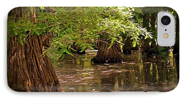 Cypress Swamp Phone Case by Marty Koch