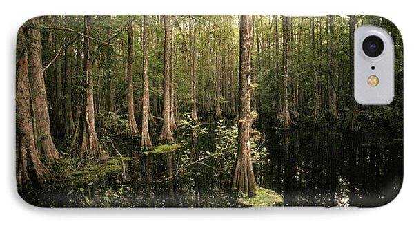Cypress Swamp Phone Case by Ron Sanford