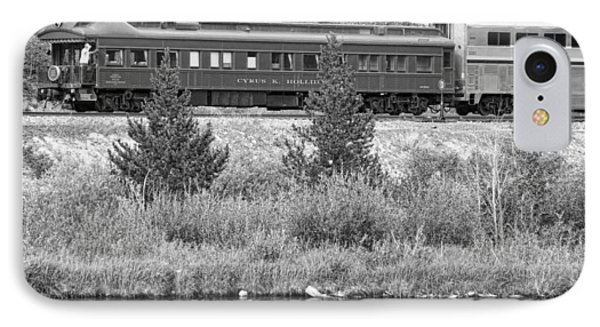 Cyrus K  Holliday Private Rail Car Bw Phone Case by James BO  Insogna