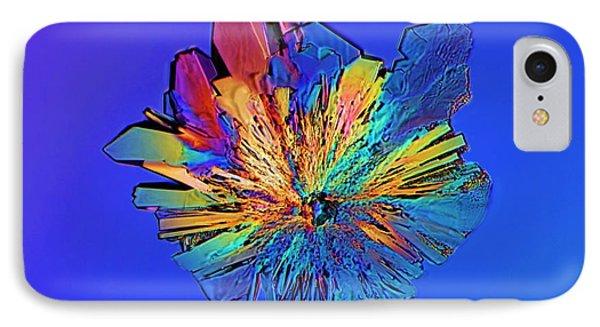Cysteine Crystal IPhone Case by Antonio Romero